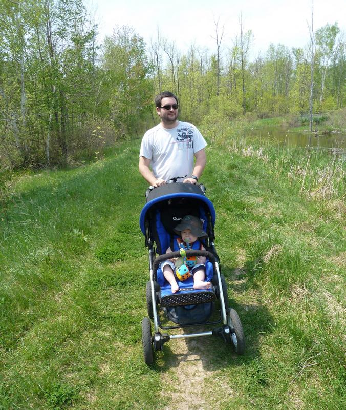 stroller walk at MacGregor Point Provincial Park