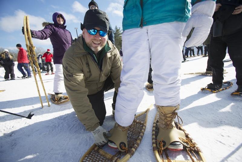 Algonquin provincial park - winter in the wild festival