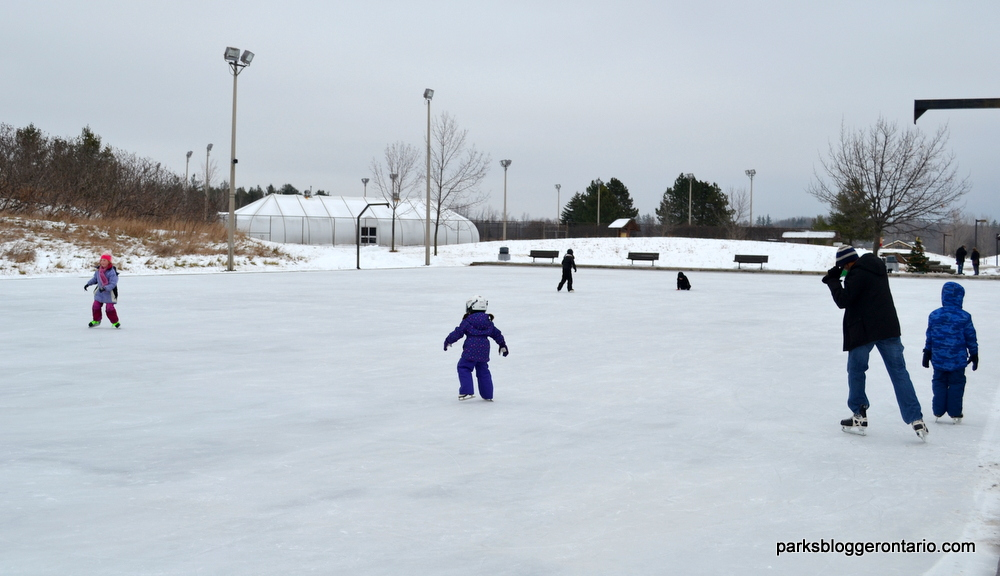 Ice Skating at Bronte Creek - Oakville