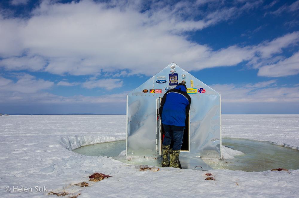 Ice Fishing - Lake Simcoe (8)