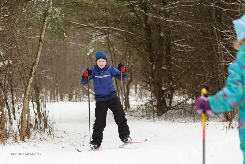 nordic skiing in Fitzroy provincial park ontario