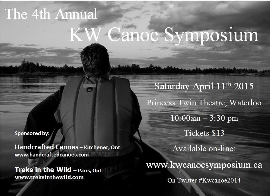 Kitchener Waterloo Canoe Symposium 2015