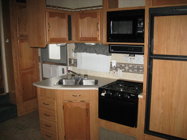 RV Maintenance - checking water leaks after winter