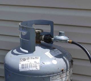 RV Maintenance - checking propane and heating systems