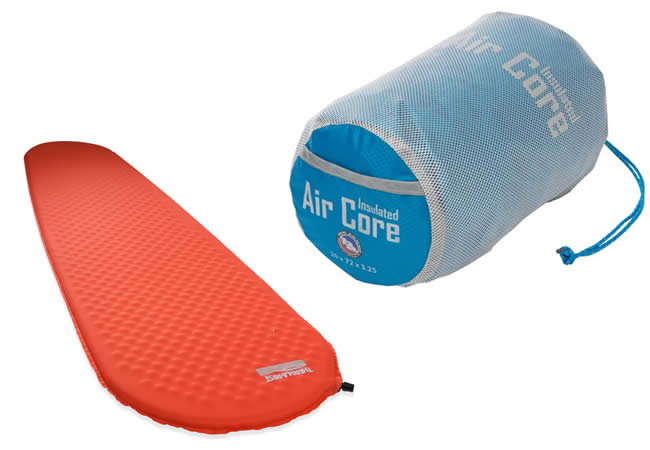 Therm-a-Rest and Air Core Sleeping pads