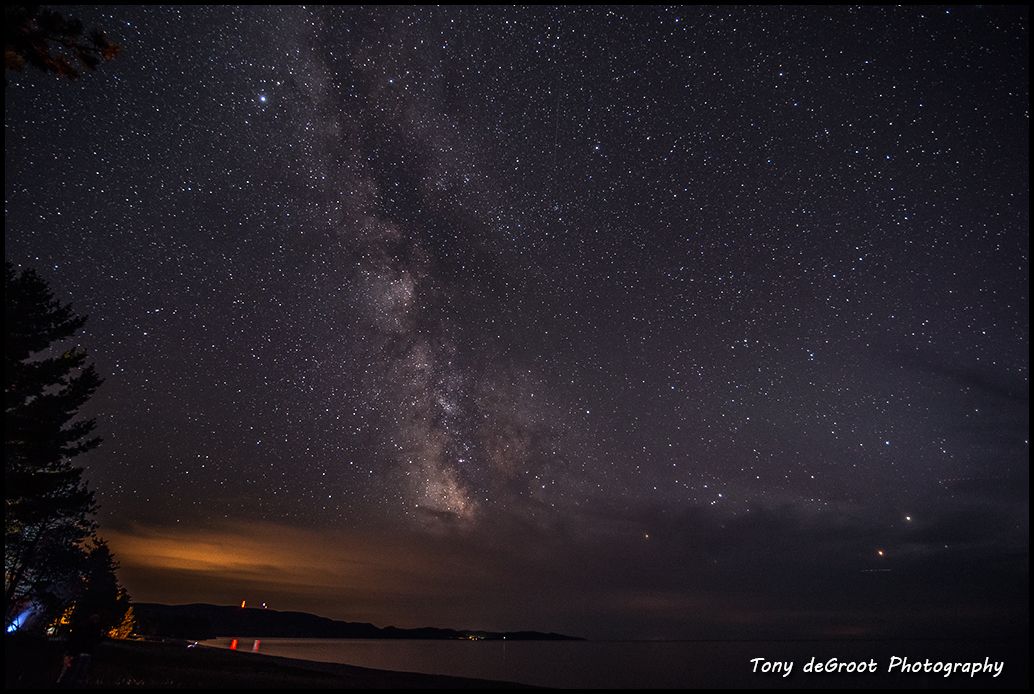 The Milky Way at Agawa Bay - Lake Superior provincial park