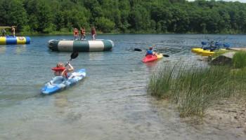 Paddle Boats at Logoland waterpark