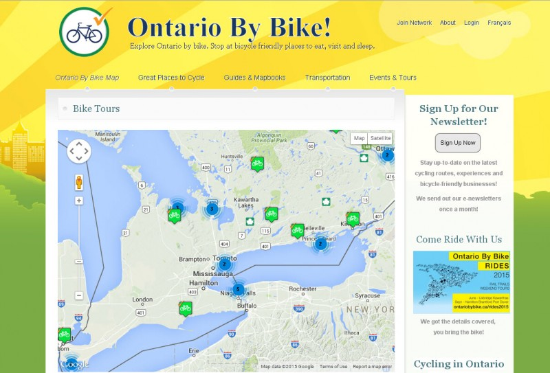 Ontario by Bike