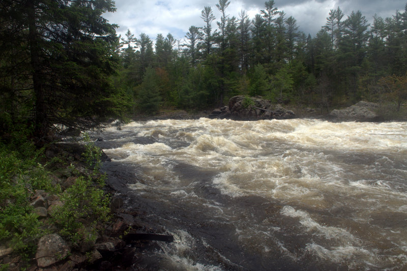 Crooked Chute on the Petawawa River, Algonquin