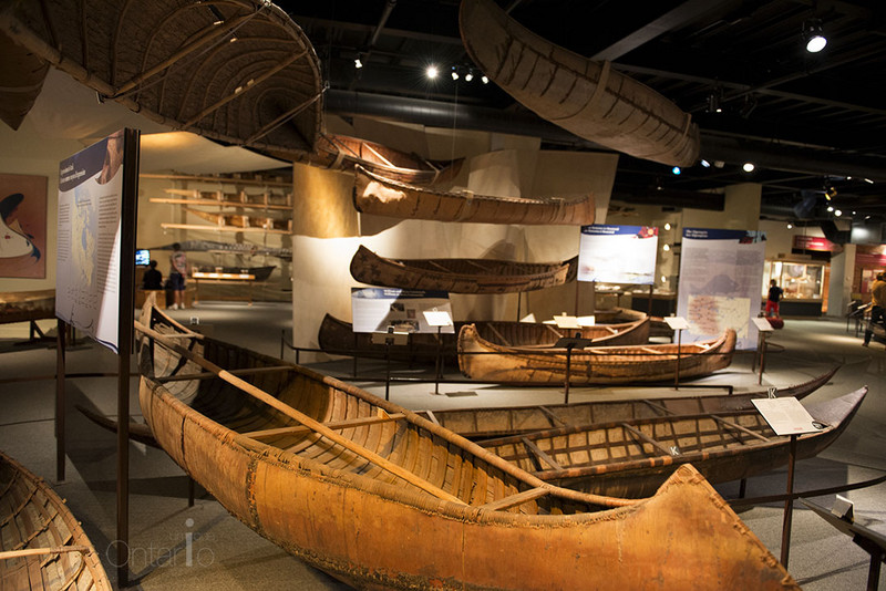 world's largest collection of canoes, kayaks and paddled watercraft in The Canadian Canoe Museum Peterborough