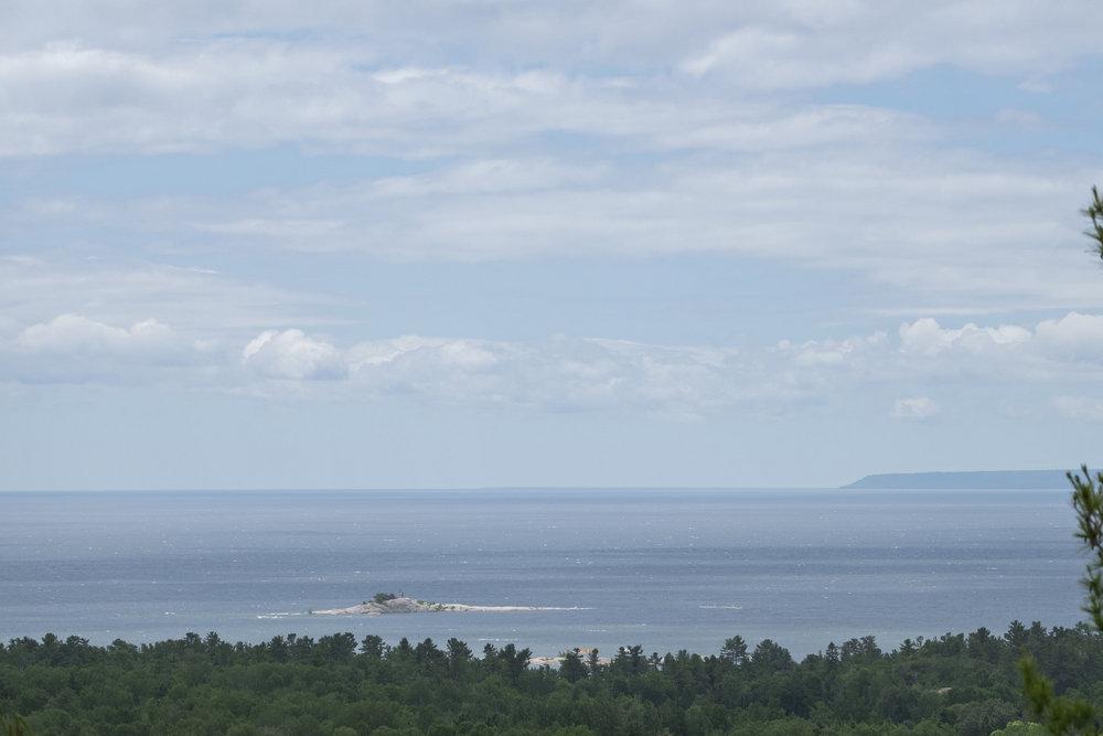 Geoargian Bay view, Granite Trail, Killarney