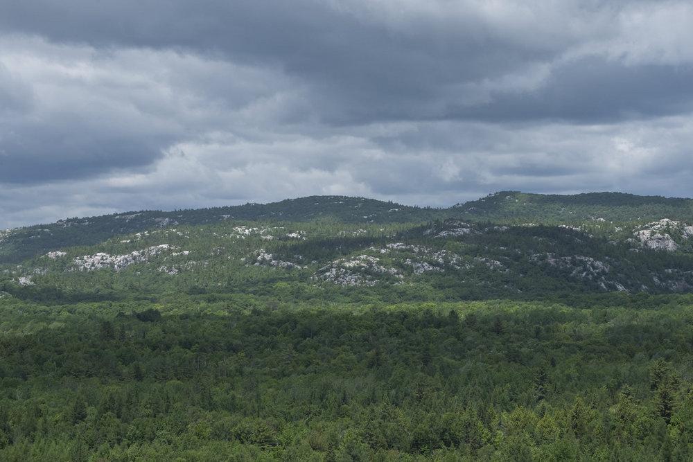 La Cloche mountains, Granite Trail, Killarney Provincial Park