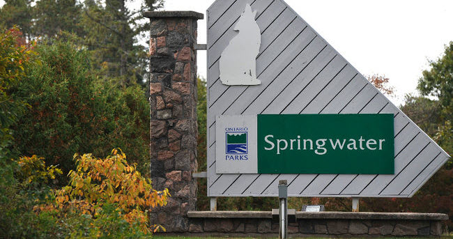 Springwater provincial park reopens after 3 years