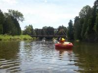 River tubing at Saugeen Springs RV Park