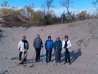 Nordic Walking at Sandbanks Dunes Trail - Sandbanks Provincial Park