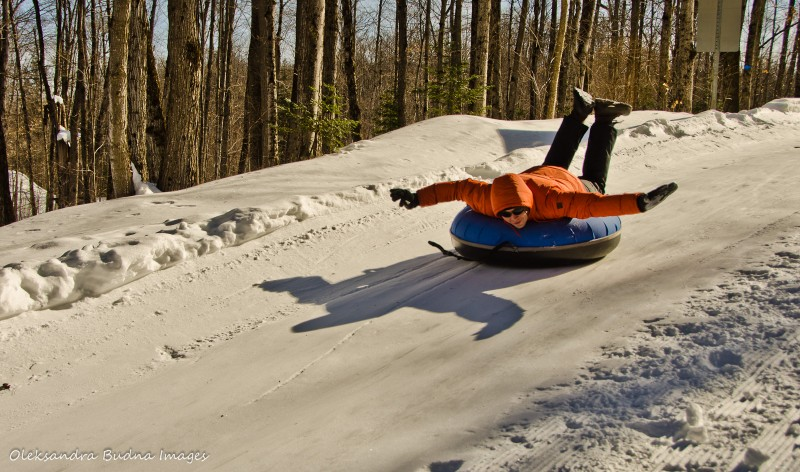 Tubing in Arrowhead_Best Ontario Parks to Visit in the Winter