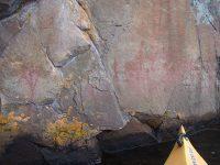 wonders of Mazinaw Lake and Mazinaw Rock - Aboriginal pictographs