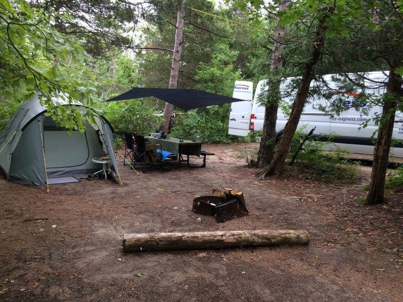 Burley Campground_Pinery Provincial Park