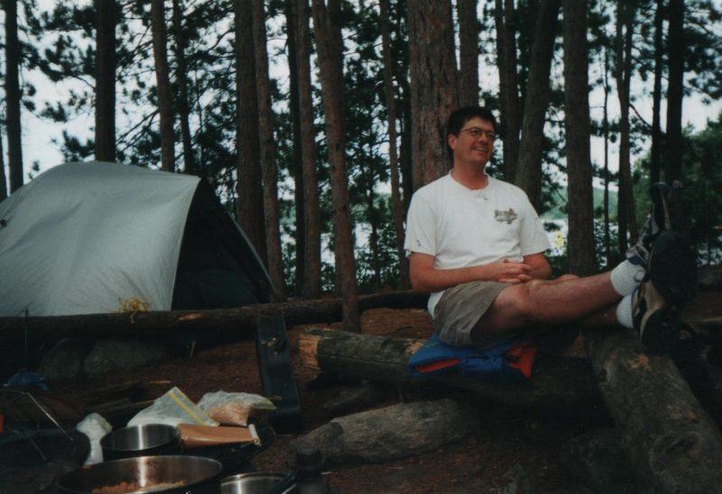 Interior camping Algonquin