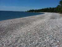 Cobble Stone Beach, Orphan Lake Trail Loop