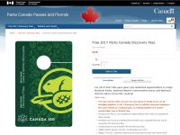 Parks Canada Free Discovery Pass 2017_2
