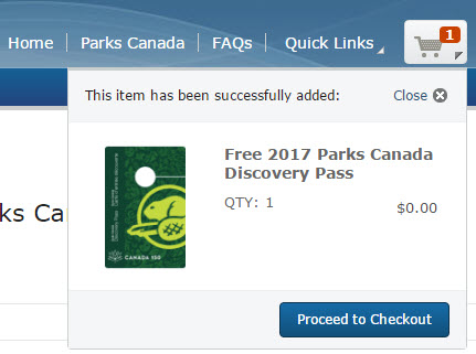 Parks Canada Free Discovery Pass 2017_3