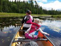 exploring Lake Mijinemungshing by paddling, Lake Superior Provincial Park