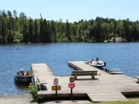 boaters and sunbathers_RushingRiverProvincialPark