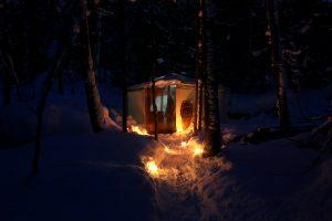 Atelier Arboreal Winter Yurt