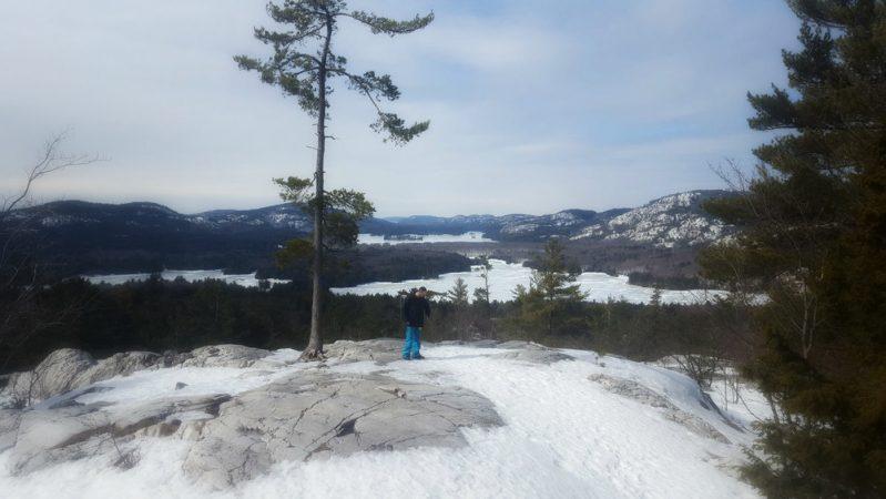 """The Crack"" trail, Killarney - Winter hiking"