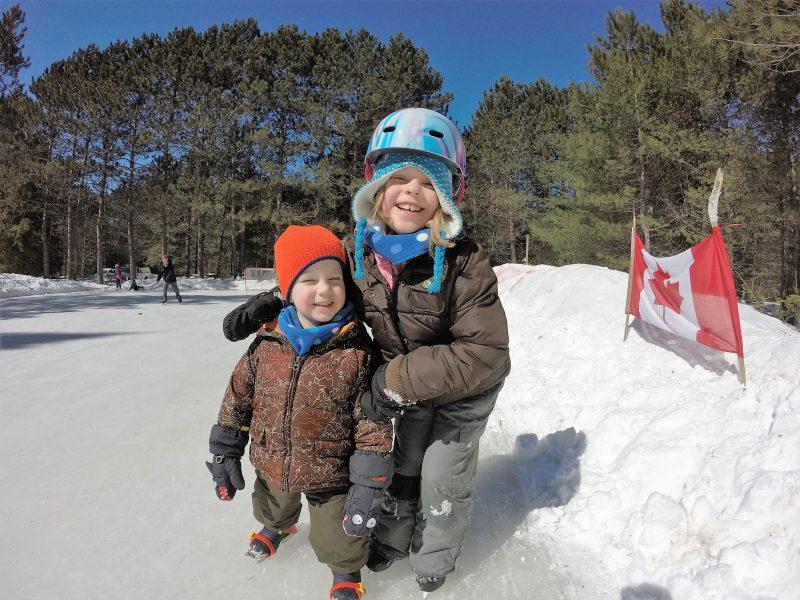 Mew Lake Ice Rink