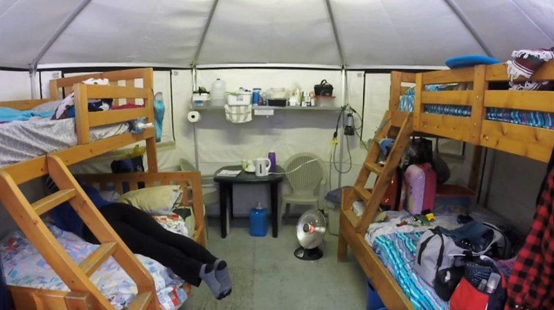 Mew Lake Yurts Interior