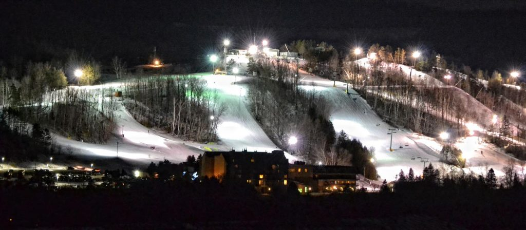 Hockley Valley Resort Night Skiing