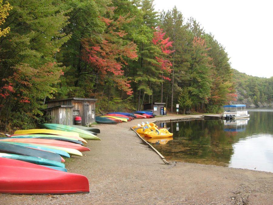 Bon Echo Fall Camping