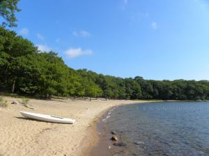 Sandy beach at Killbear